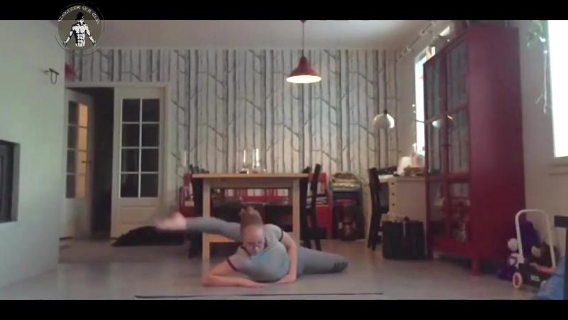 SLs Amazing flexibility and stretching _ Nadja Hakola