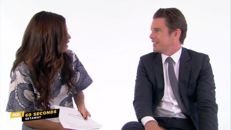 MAX 60 Seconds with Getaway's Ethan Hawke (Cinemax)