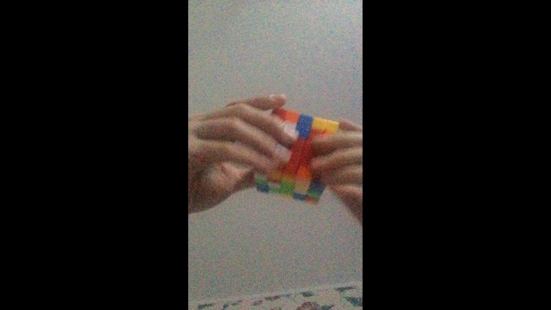 Сборка кубика 5х5х5