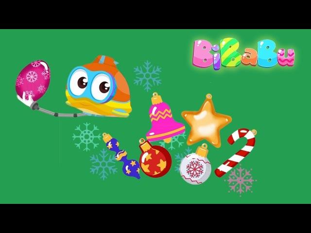 BiBaBu la parola magica l'alga di Natale Oscar Sottomarino e la piccola sirenetta