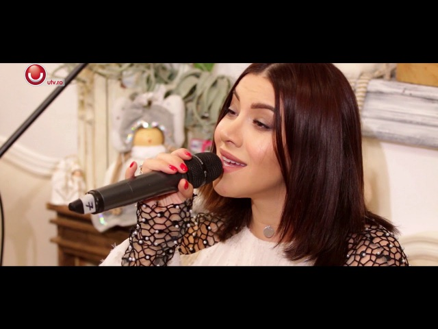 Nicoleta Nuca Doru - O ce veste minunata (Live Session Xmas Edition) @Utv 2017
