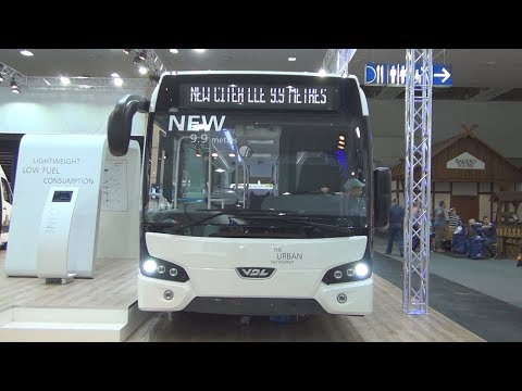 VDL Citea LLE 99 Bus 2017 Exterior and Interior