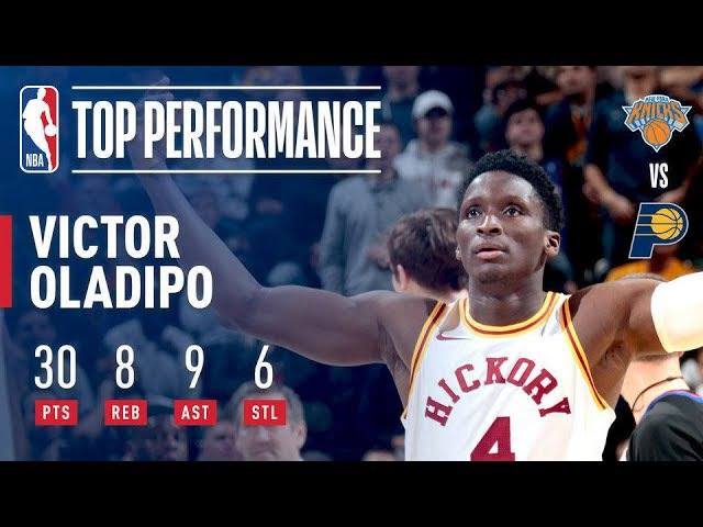 Victor Oladipo Spins His Way To A Win Over The New York Knicks!