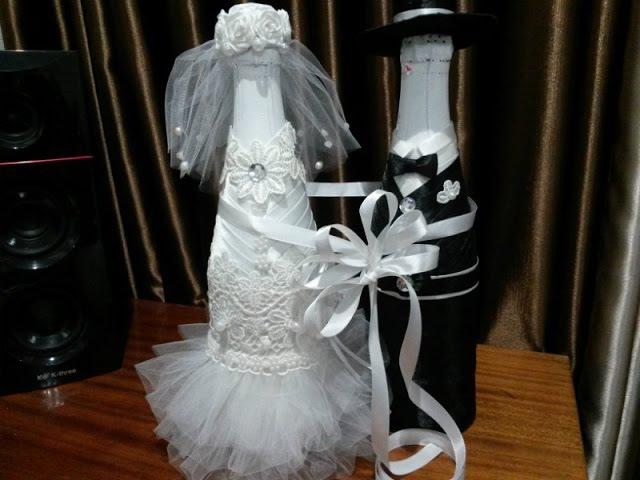 Бутылка своими руками. Невеста, часть 5. Готово