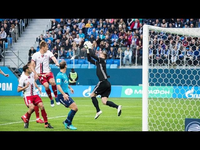 Зенит Амкар полный обзор матча смотреть онлайн без регистрации