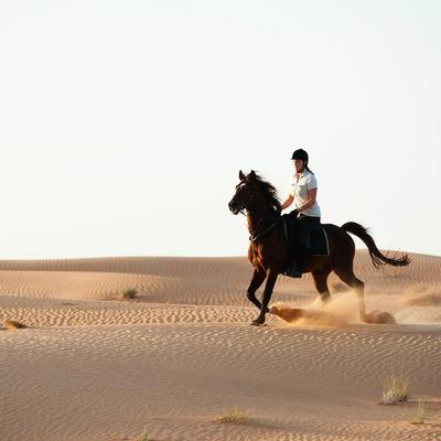 Desert Horse-Riding