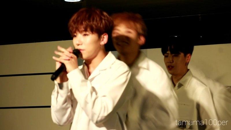 [FANCAM] 180528 100%(백퍼센트) - Song for you (Rockhyung Focus) @ Osaka - Namba OCAT