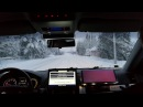 RobotCar Martti first automated car driving in snowy Aurora E8 road conditions