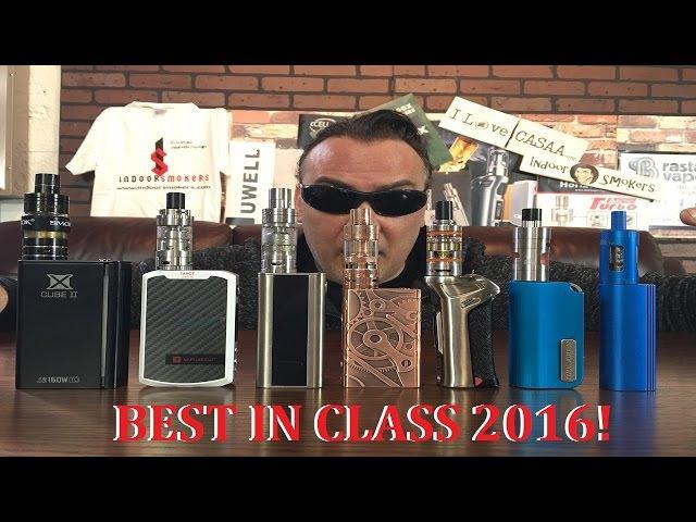 BEST IN CLASS ECIG MODS for 2016! | IndoorSmokers