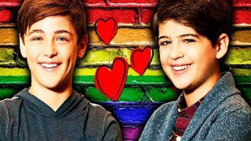 Первый гей в Дисней сериале, играющий главную роль || Сериал Энди Мэк || Andi Mack Cyrus/Jonah