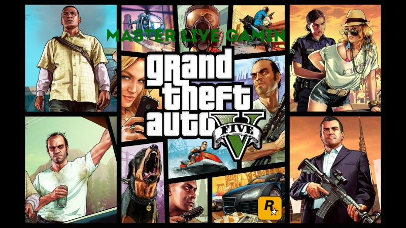 Master Live Gaming - Grand Theft Auto V - Сюжетка