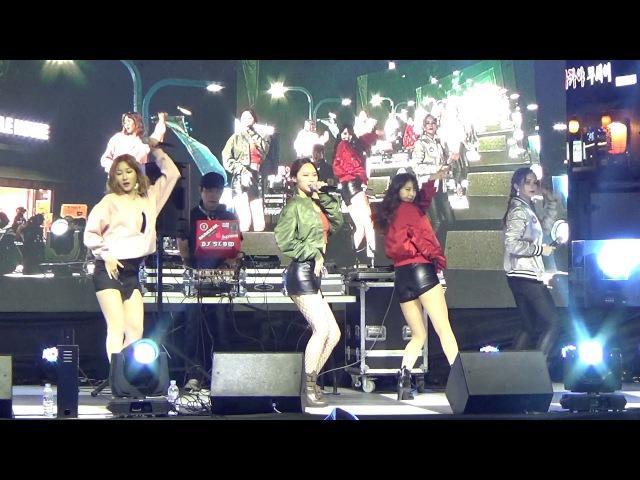 걸그룹오마주(OMyjewel) - Tambourine)템버린 - 홍대 잔다리마을 축제 - 2017.09.15일.hnh.
