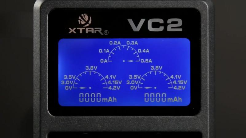 Обзор XTAR VC2 и VC4 — умные зарядные устройства для аккумуляторов