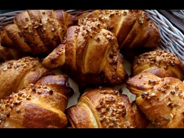 Слоеная булочка ☆ Марципан ☆ Рецепт для пекарни ТТК
