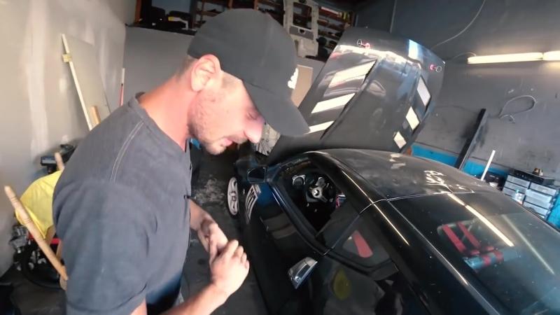 [Nicky Rush] Где мы строим тачки в Лос-Анджелесе Вайд бади на Nissan 370Z. Планы по дрифту.