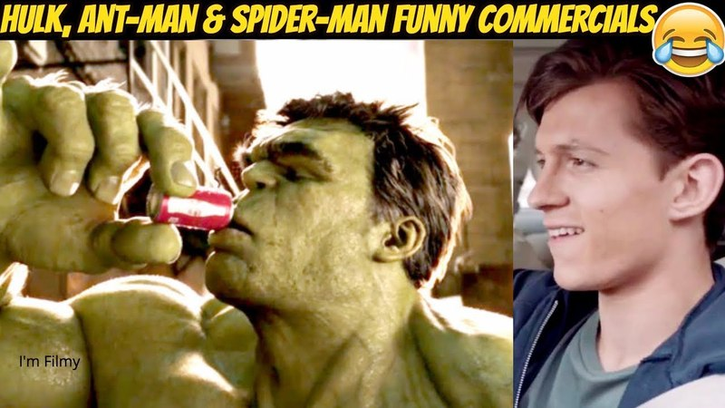 Marvel Superheroes Funny TV Commercials Ft. Tom Holland Ryan Reynolds