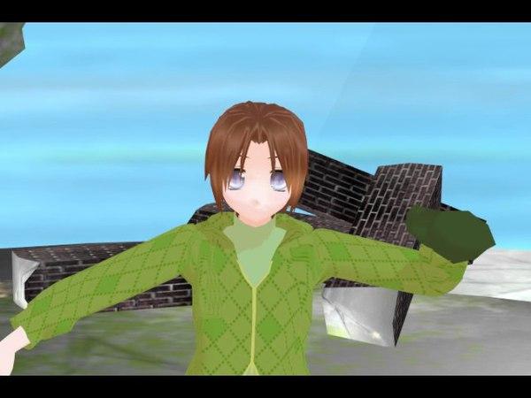 MMD D.Gray Man - Gokuraku Jodo Allen(child)