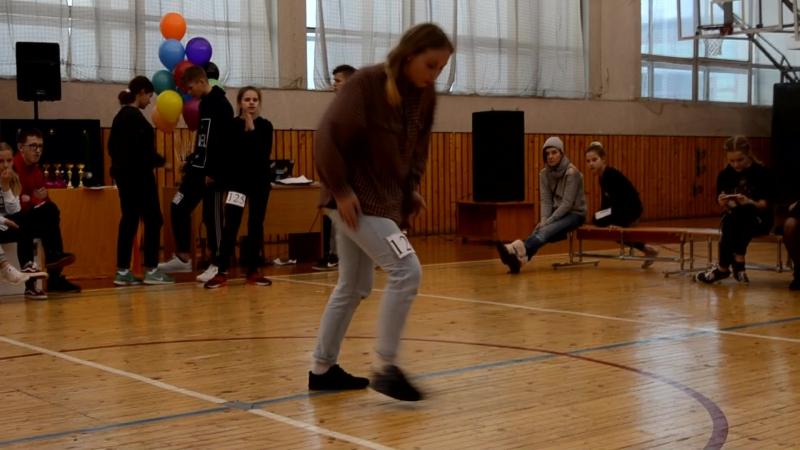 Christmas dance cup Бондарик Дарья Юнеоры опен- класс 4 место