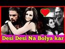 Desi desi na bolya kar chori re wwe|| Roman reigns and Paige Song ||Roman reigns and Paige love song