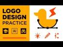 Logo Design Practice | Random Words Logo Design 1