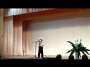 Районный конкурс- смотр патриотической песни. Поет Константин Талалов.