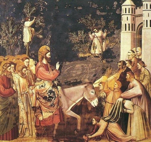 Вербное воскресенье: Христос оставляет завещание наследникам Yti3E7Q-Zk4