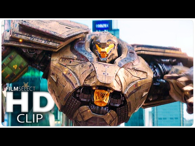 PACIFIC RIM 2: All Clips in Chronological Order (2018)