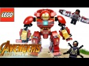 LEGO Marvel 76104 Бой Халкбастера Обзор Avengers Infinity War The Hulkbuster Smash-Up