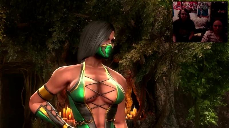 [MiaRissyGames] Миёк и Риська играют в [Mortal Kombat 9] 1