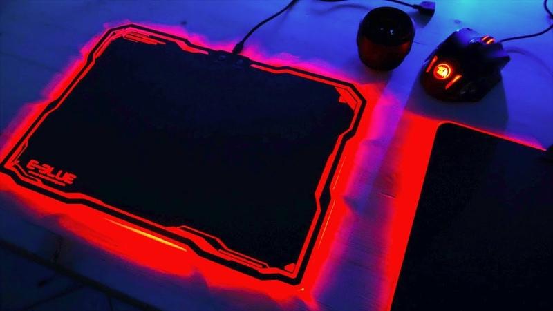 Какой Коврик с RGB подсветкой выбрать? Игровая мышка Redragon M908