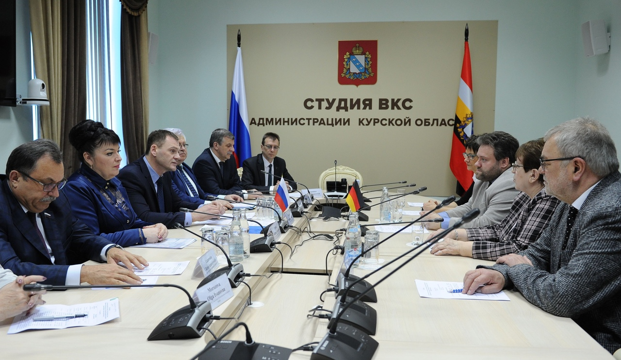 Курская область наторговала с Германией более чем на 62 миллиона долларов