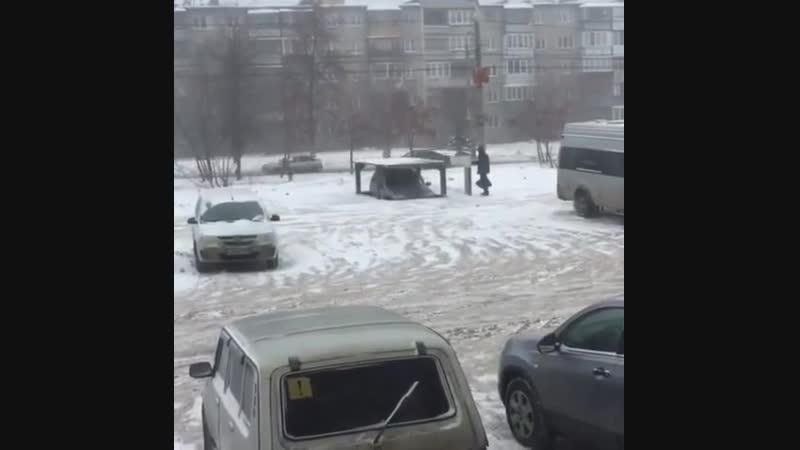 Суровый Челябинск!! Подземная парковка