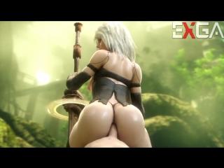 Nier Automata - 3D HENTAI - 3D HENTAI Cartoon porn порно мультфильм full hd xxx эротика hardcore orgy оргия транс