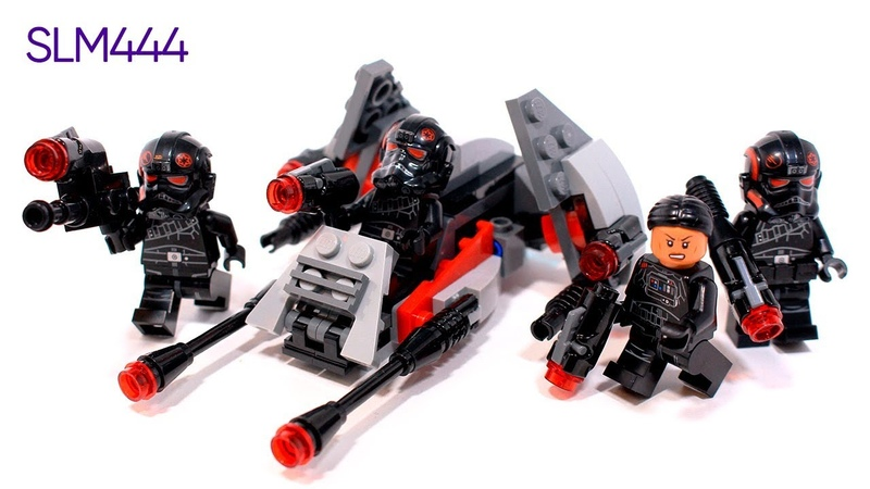 LEGO Star Wars 75226 Inferno Squad Battle Pack Review | ОБЗОР