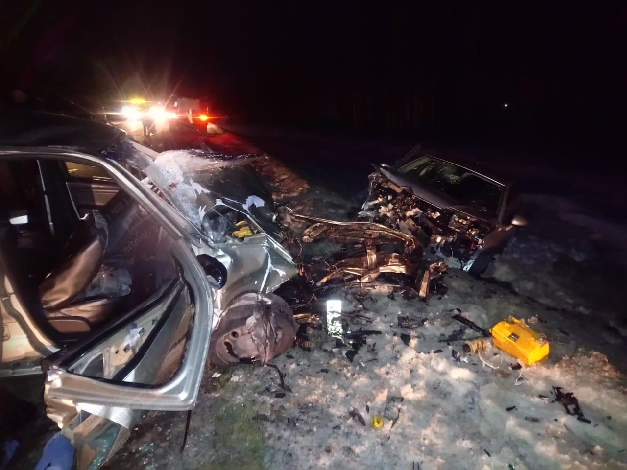 ДТП В Курской области - один человек погиб, трое пострадали