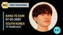 FINAL DEBUT MEMBER 02 BANG YEDAM 방예담 YG TREASURE BOX EP 10 YG보석함 18012019