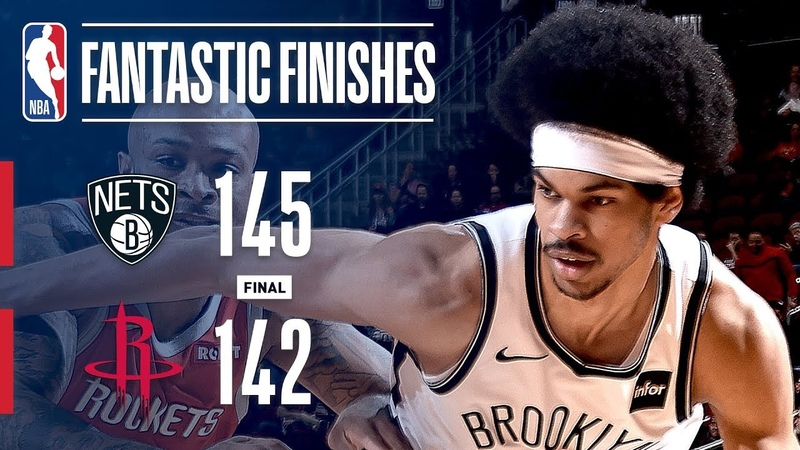 The Nets and Rockets Engage In a Fantastic Finish | January 16, 2019 NBANews NBA Rockets Nets
