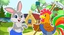 ЗАЮШКИНА ИЗБУШКА Мультик для Малышей Сказка для Детей Лиса и Заяц Любимые Русские Сказки