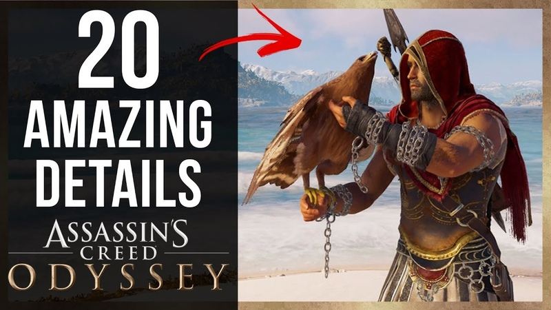 20 AMAZING Details in Assassin's Creed Odyssey