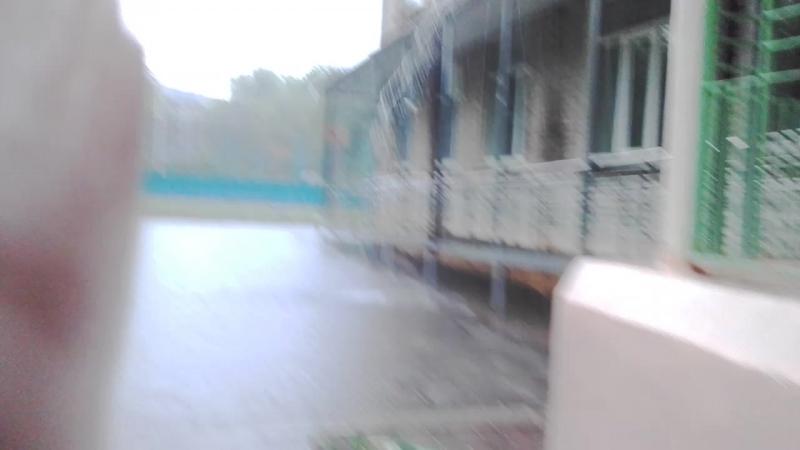 2 часть гуляния под дождём с Арсением