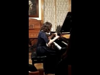 сольный концерт нашей выпускницы Дарьи Богдановой