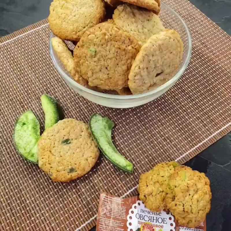 Цитрусовое овсяное печенье