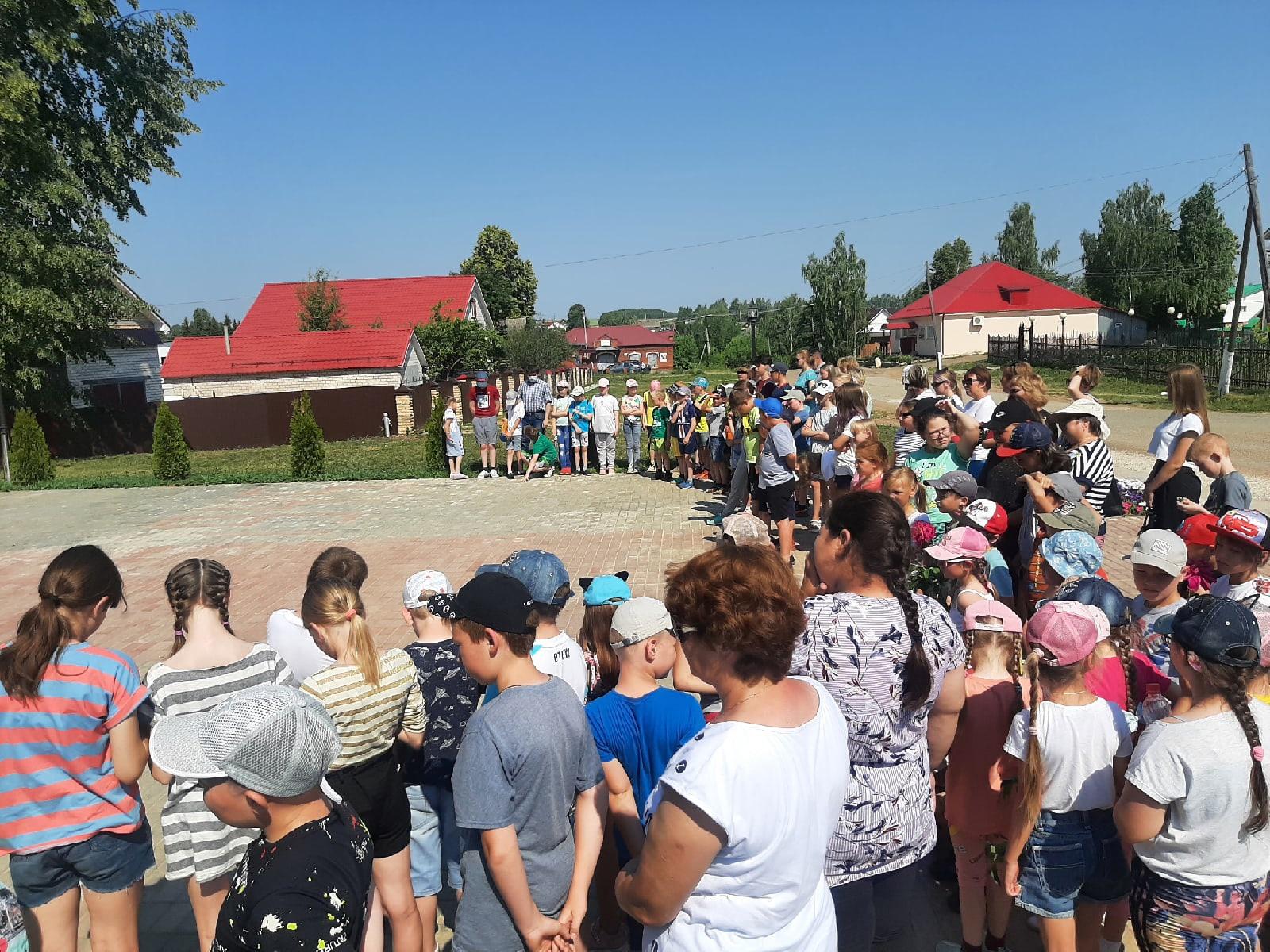 Митинг в село Большая Уча, посвященный Дню
