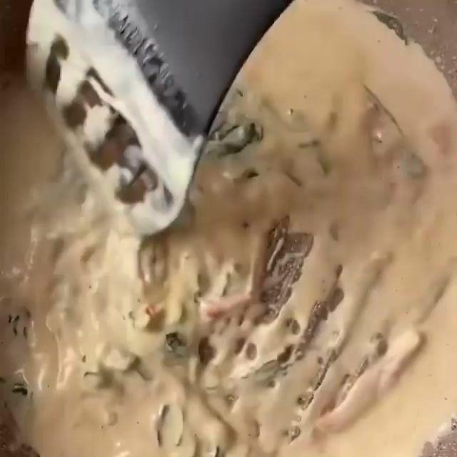 Лосось в сливочном соусе