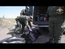 Тела диверсантов погибших под Песками переданы украинской стороне.