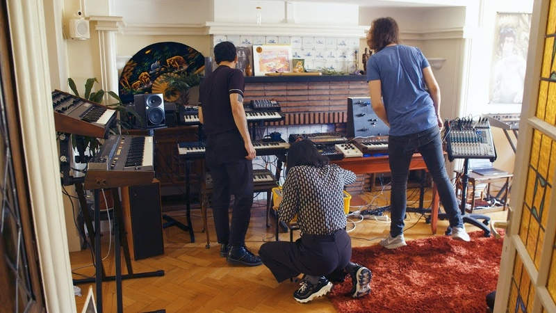 Making a cassette EP with Legowelt and Animistic Beliefs