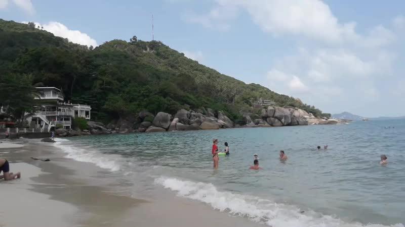 Пляж Кристал Бэй, Самуи, Таиланд. Высокий сезон, яблоку негде упасть )