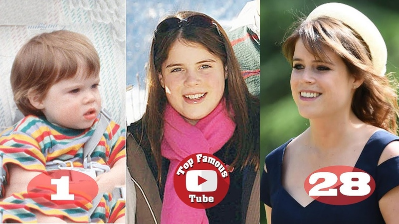 Princess Eugenie of York | Transformation From 0 To 28 Years Old