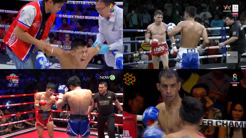 Калейдоскоп насилия лучшие финиши уикенда. 15-17.02.2019. Max Muay Thai, KiatPet Super Fight, MT Super Champ, Muaymanwansuk.