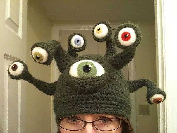 Вязанная шапочка -